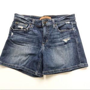 Joe's Jeans | distressed denim shorts 26